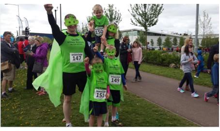 Superhero Fun Run May 2015