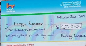 Charity Harry cheque 020615