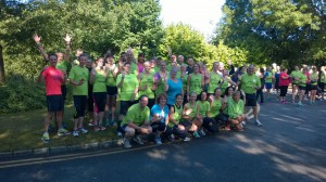 Z2H 25 July 2015 parkrun group