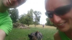 Grumpy pig and friendship