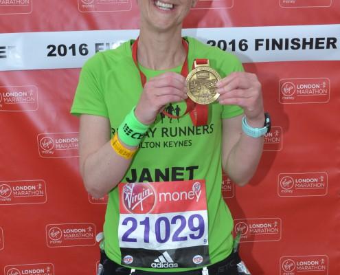 Marathon pic Janet 1