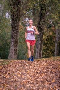 Jen running
